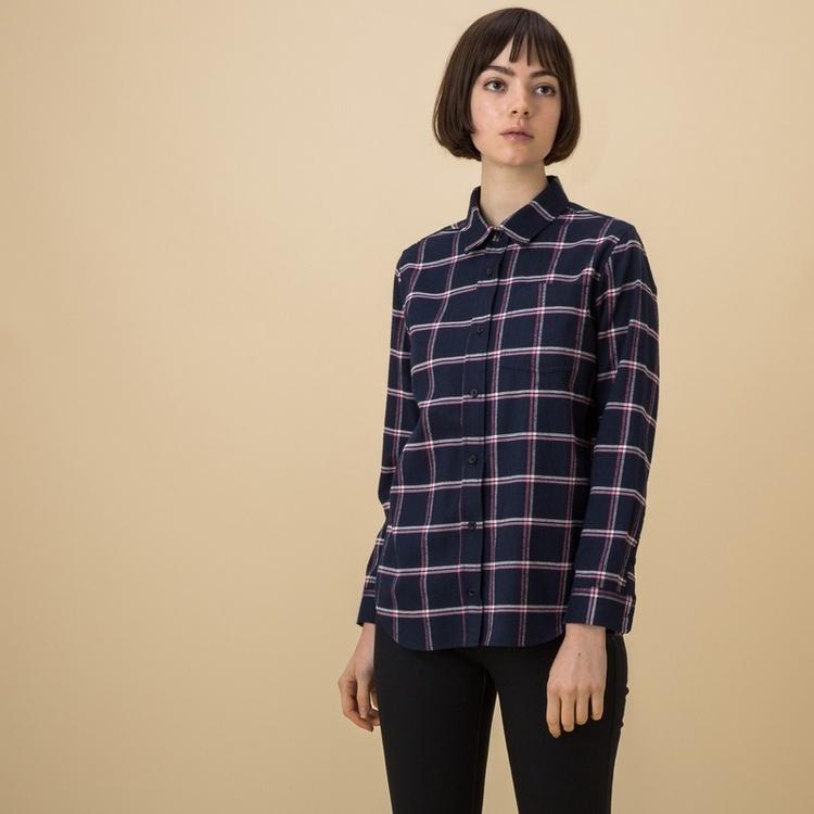 AIGLE(エーグル)/フランネルウインドウペンチェックシャツ