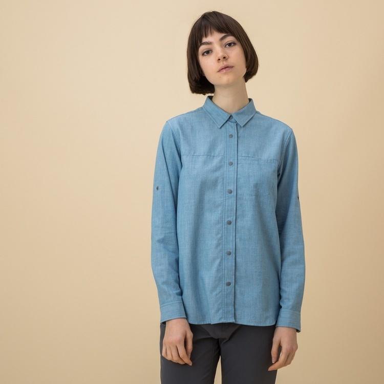 AIGLE(エーグル)/吸水速乾 プリマロフトダンガリーシャツ