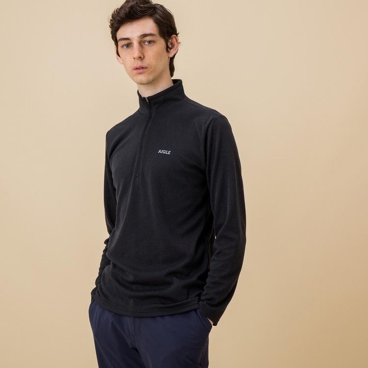 AIGLE(エーグル)/吸水速乾 プリマロフトジップアップシャツ