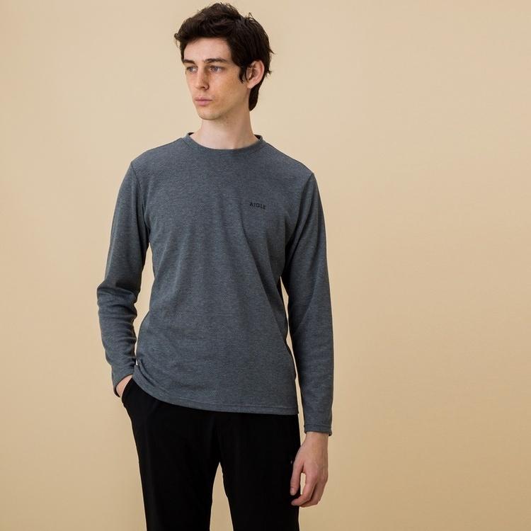 AIGLE(エーグル)/吸水速乾 プリマロフトロングスリーブTシャツ