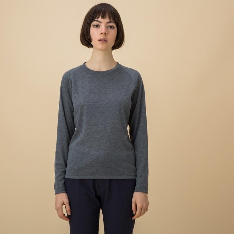 吸水速乾 プリマロフトロングスリーブTシャツ