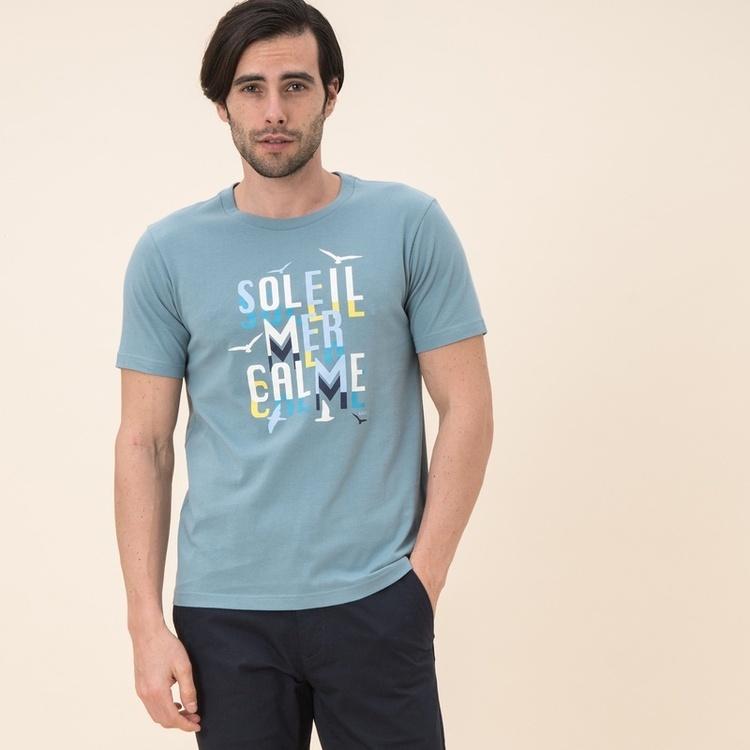 吸水速乾 銀イオン抗菌グラフィックTシャツ