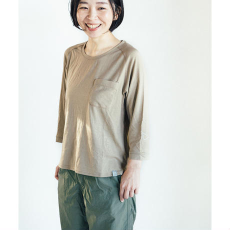 atelierBluebottle(アトリエブルーボトル)/Hiker's T-shirt (8sleeve) size:XXS(レディスS)