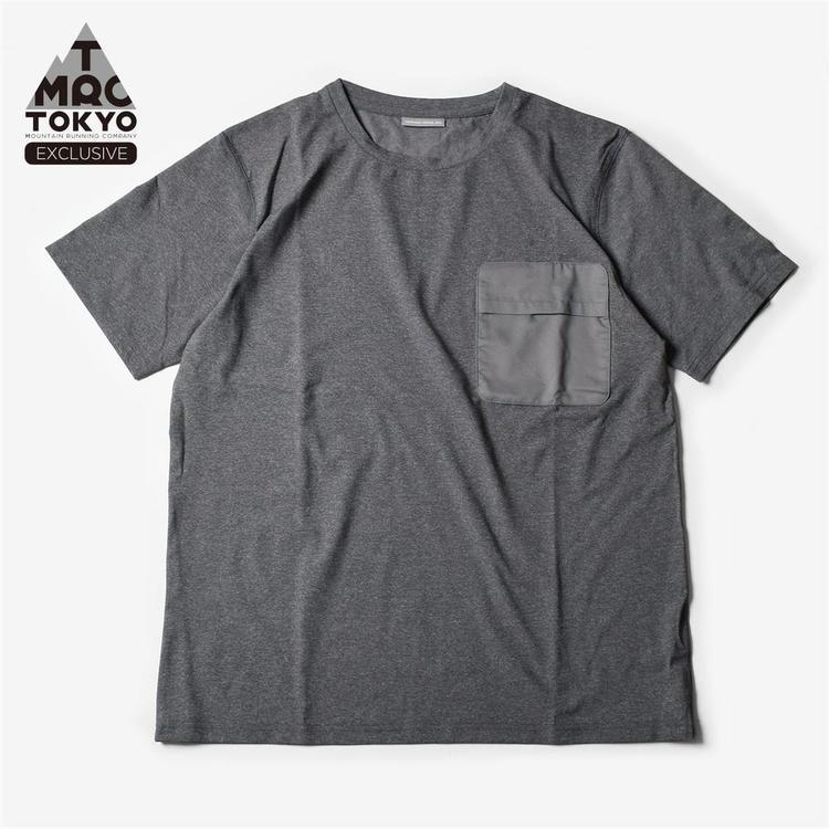 MOUNTAIN MARTIAL ARTS(マウンテンマーシャルアーツ)/MMA Packable Pocket Tee (Gray) / TMRC exclusive