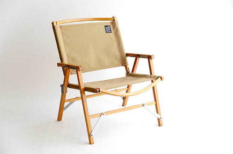 Kermit Chair × sunsetclimax  custom chair fabric (Gold Beige)