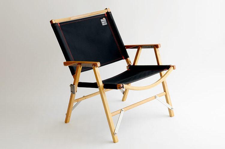 Kermit Chair × sunsetclimax  custom chair fabric (Black)
