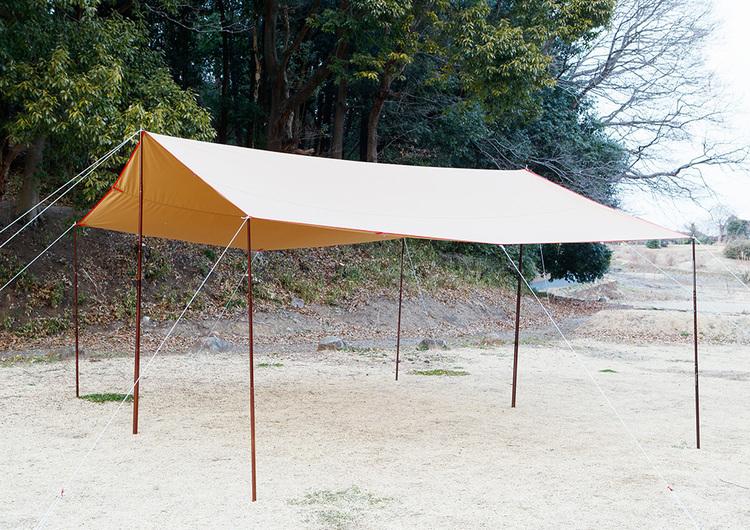 tent-Mark DESIGNS(テンマクデザイン)/Takibi-Tarp TC Recta
