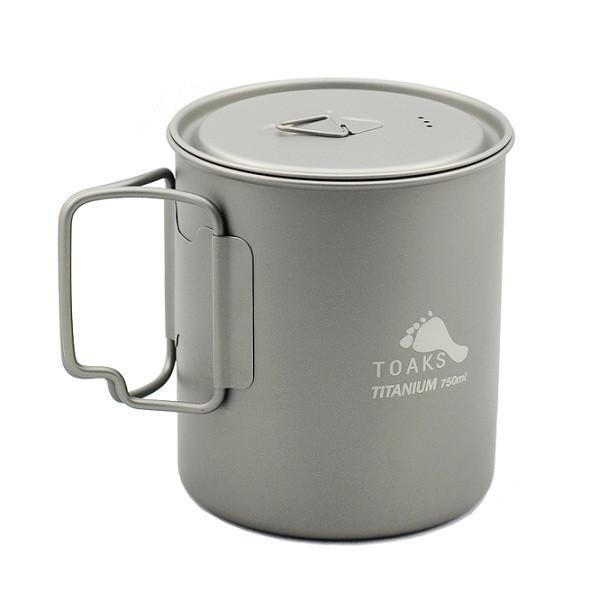 Cnoc Outdoors(クノックアウトドアーズ)/TOAKS Titanium 750ml Pot