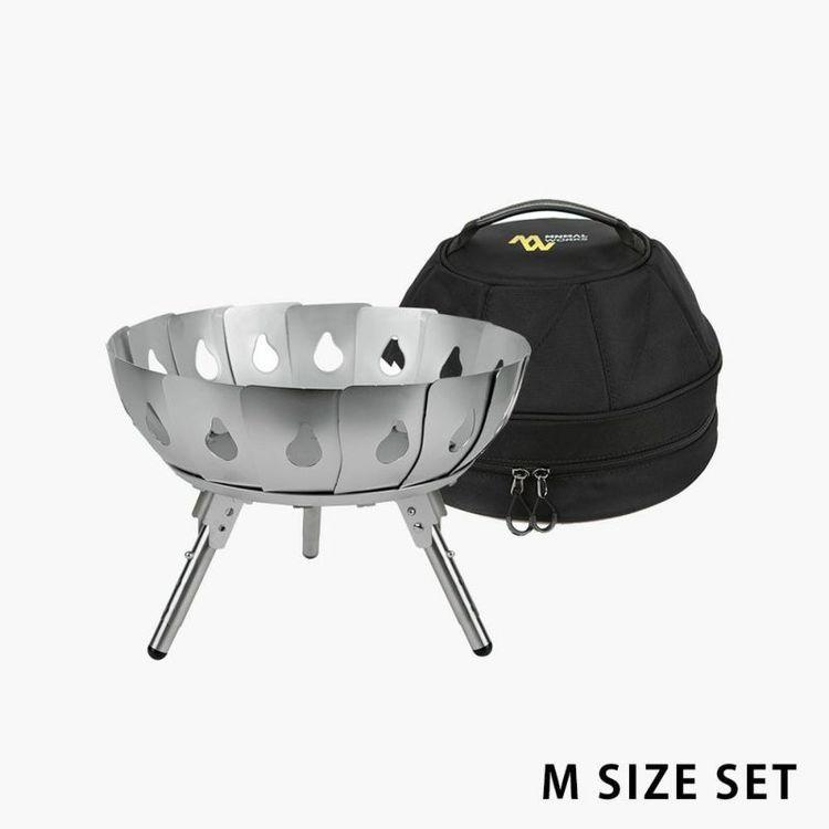 VULCAN 焚き火台&収納バッグセット Mサイズ/ミニマルワークス(MINIMAL WORKS)