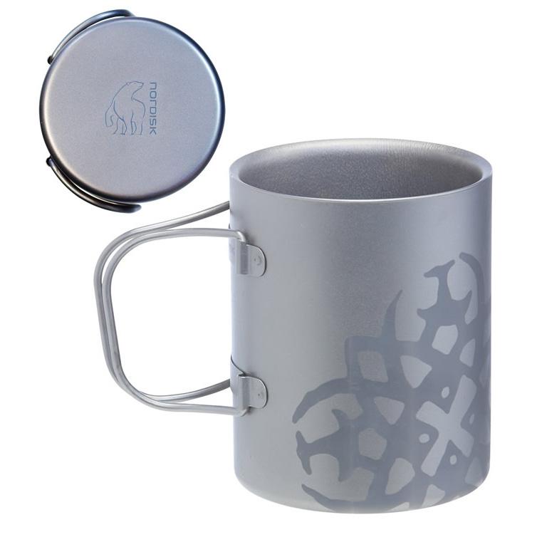 NORDISK(ノルディスク)/Titanium Mug Double-Wall 220 (チタニウム ダブルウォール マグカップ 220ml )