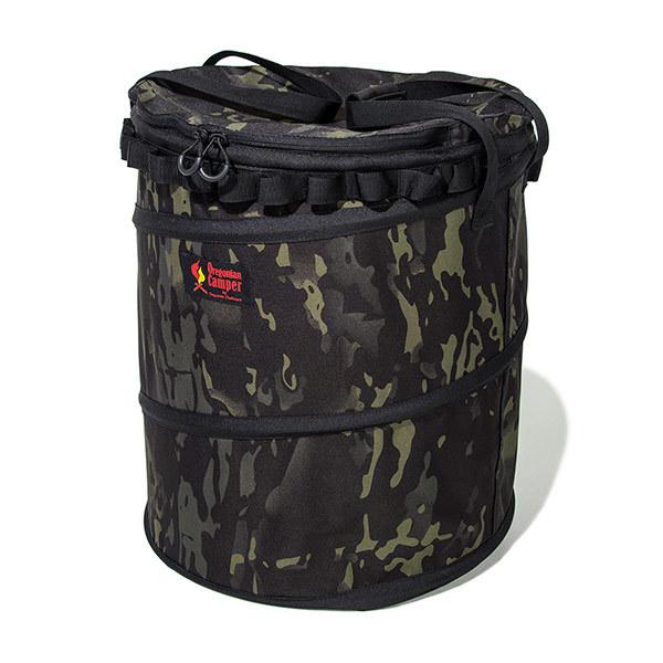 Oregonian Camper(オレゴニアンキャンパー)/ポップアップ トラッシュボックス (ブラックマルチカモ)