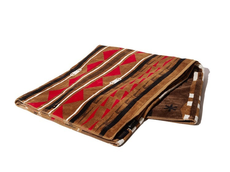 snow peak(スノーピーク)/SP×PENDLETON TOWEL BLANKET One Beige