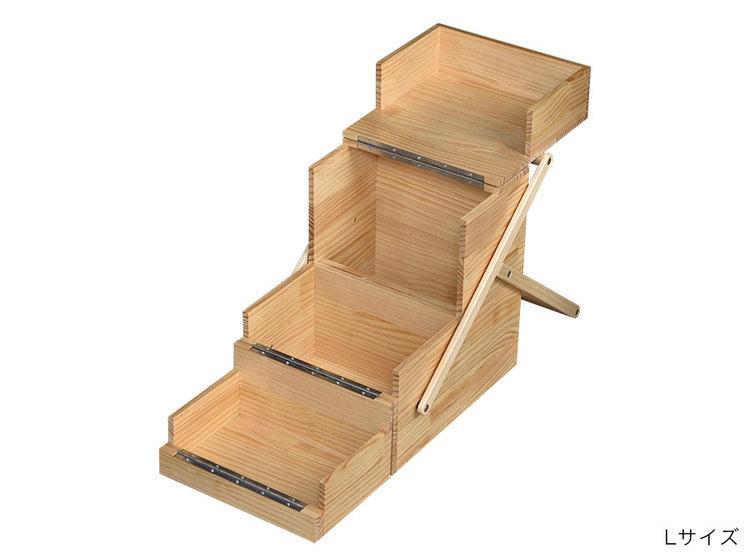 FIELDOOR(フィールドア)/木製キッチンツールボックス