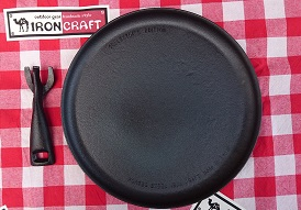 IRON CRAFT(アイアンクラフト)/iron plate (焚き火フライパン)