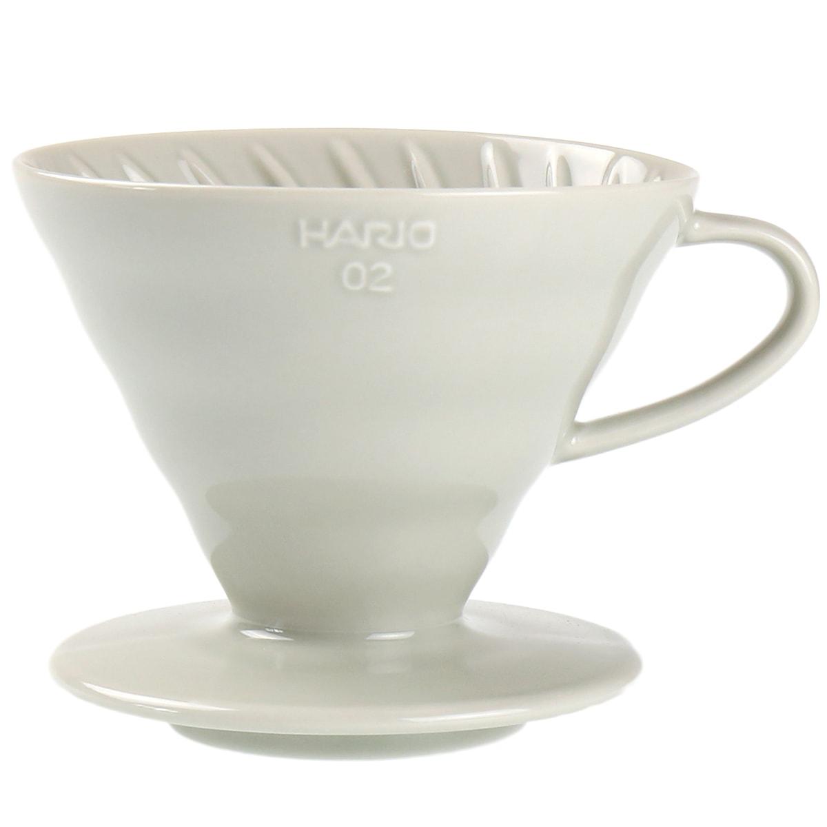 セラミックコーヒードリッパー02 <白鼠/イルカナライトグレー>