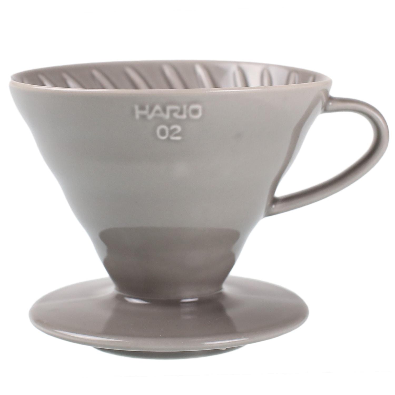 セラミックコーヒードリッパー02 <銀鼠/イルカナダークグレー>