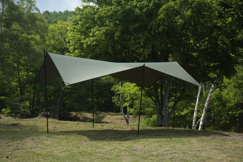 cotton KOKAGE tarp ARMY GREEN