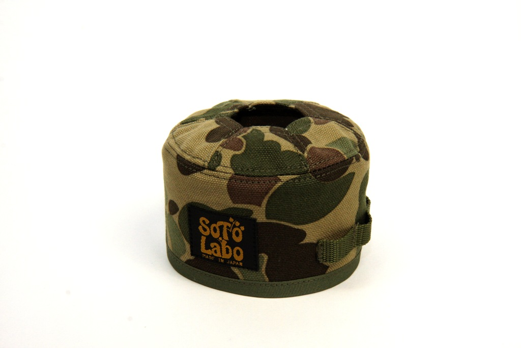 SotoLabo(ソトラボ)/Gas cartridge wear / Hunter Camo OD250
