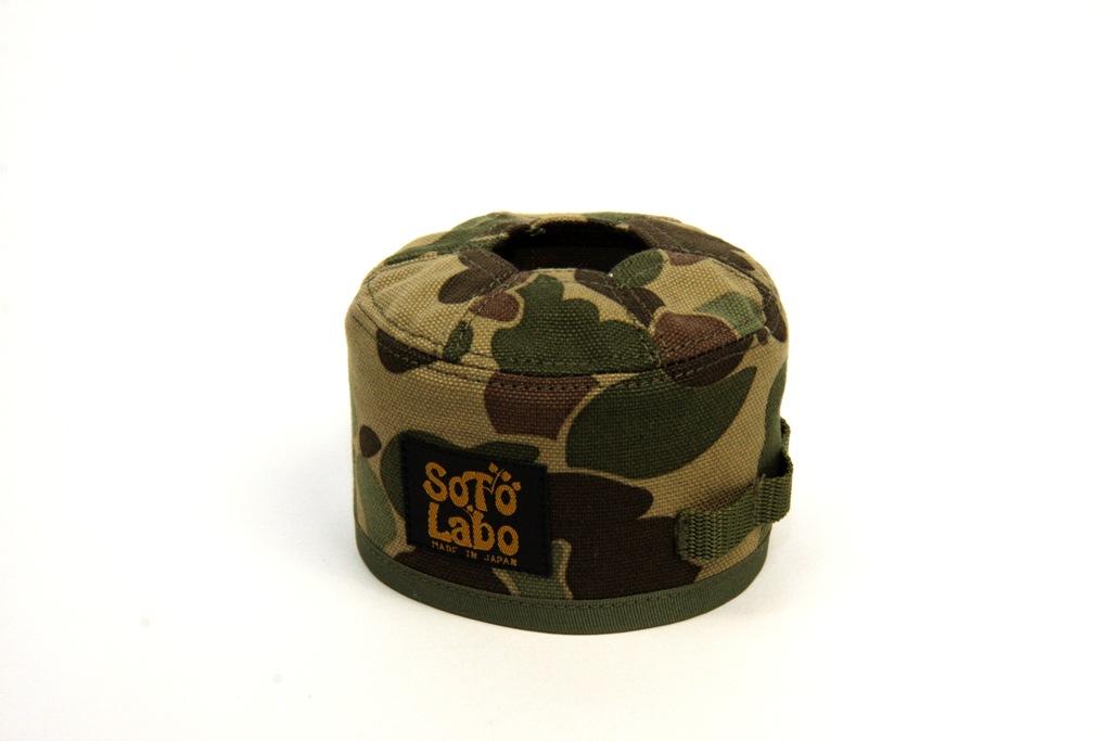 SotoLabo(ソトラボ)/Gas cartridge wear / Hunter Camo OD250