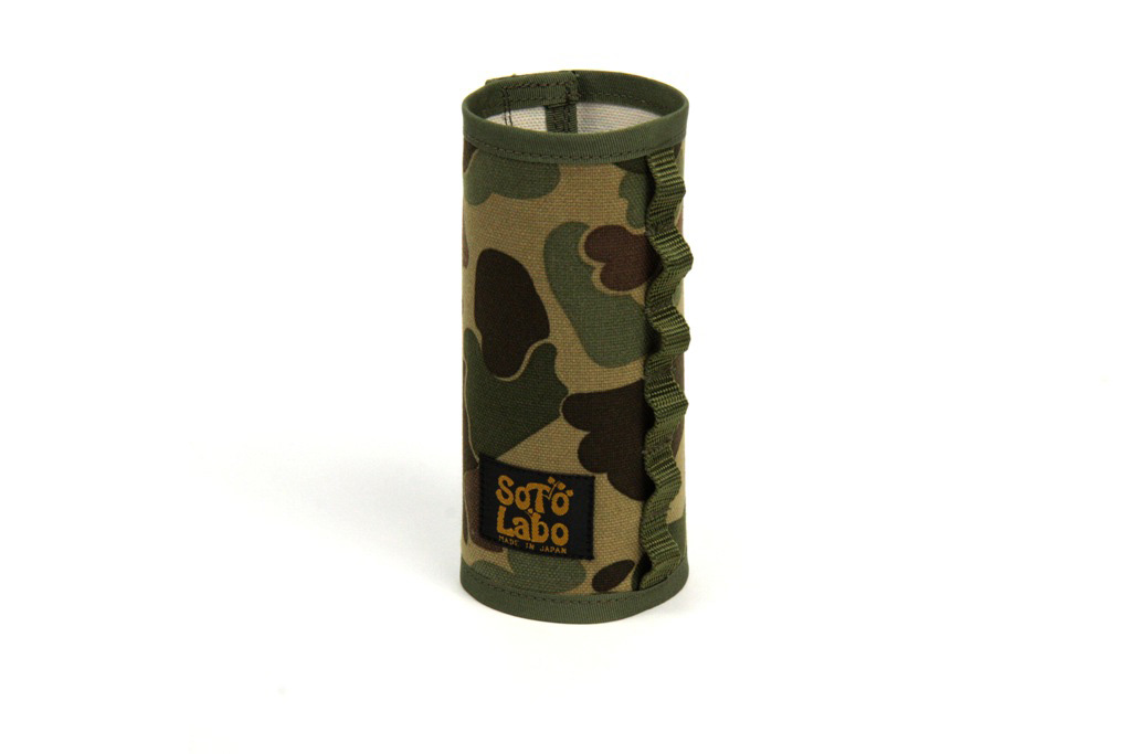 SotoLabo(ソトラボ)/Gas cartridge wear / Hunter Camo CB