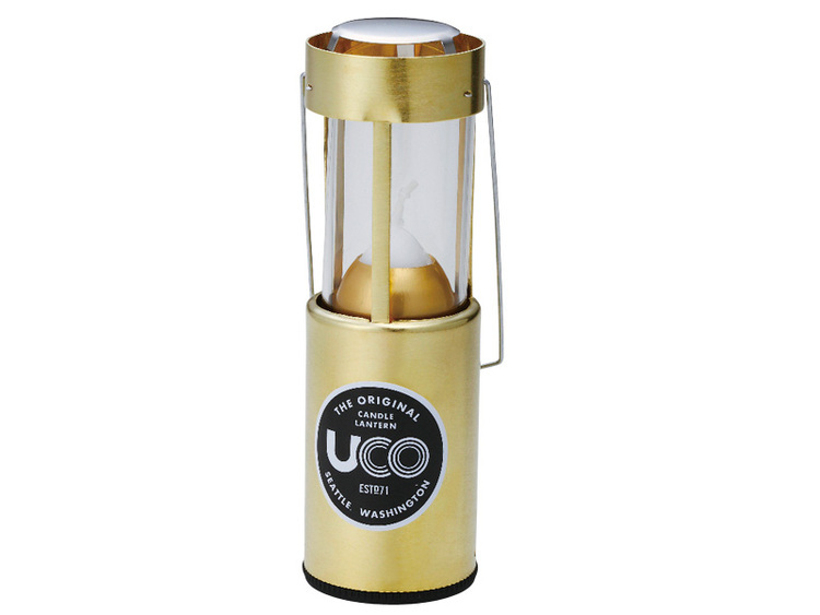 UCO(ユーコ)/キャンドルランタン[ブラス]