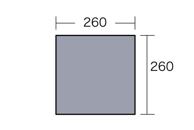 ogawa(オガワ)/PVCマルチシート270×270