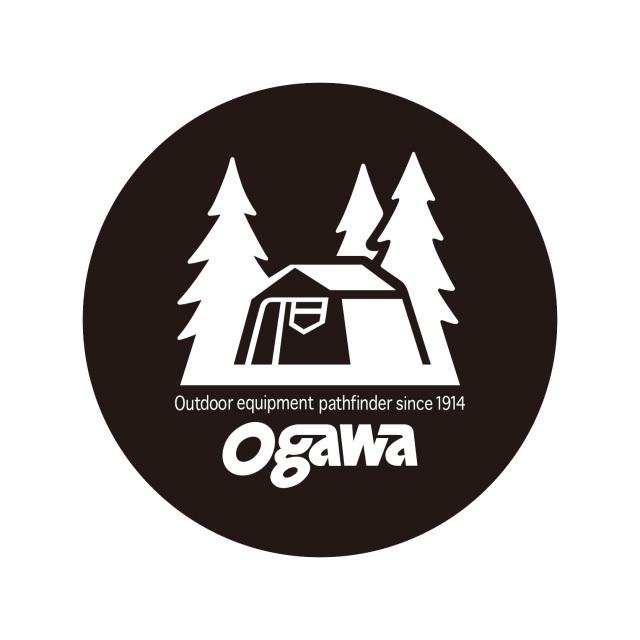 ogawa(オガワ)/ogawa丸型ロッジステッカーL