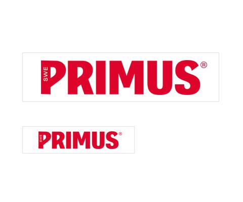 PRIMUS(プリムス)/プリムスステッカー P-566137(L) P-566136(S)
