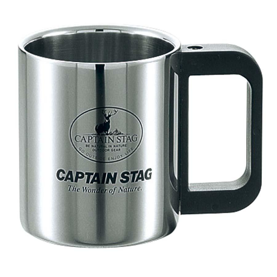 CAPTAIN STAG(キャプテンスタッグ)/マレー ダブルステンマグカップ220mL