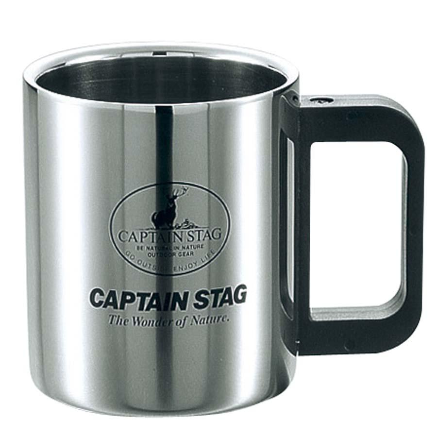 CAPTAIN STAG(キャプテンスタッグ)/マレー ダブルステンマグカップ310mL