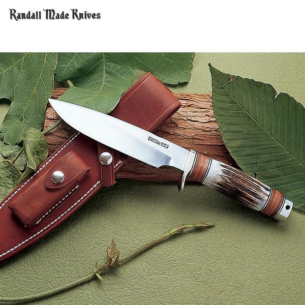 Randall Made Knives/M-25 トラッパー6 レザースタッグハンドル
