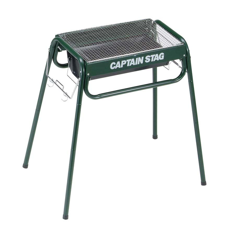 CAPTAIN STAG(キャプテンスタッグ)/スライド グリルフレーム 450〈グリーン)