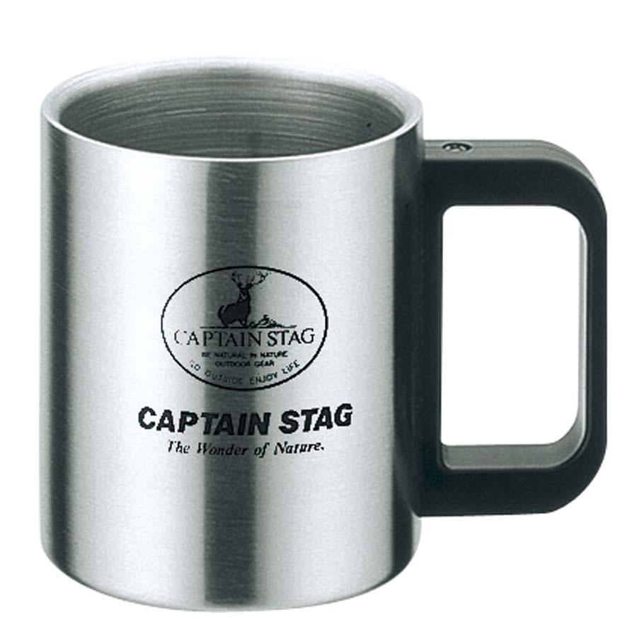 CAPTAIN STAG(キャプテンスタッグ)/フリーダム ダブルステンマグカップ300mL