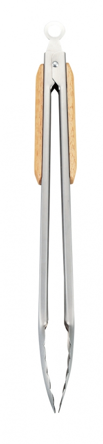 CAPTAIN STAG(キャプテンスタッグ)/BBQ ウッドグリップトング35cm