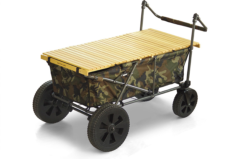 outputlife(アウトプットライフ)/WOOD ROLL TOP for CARRY WAGON
