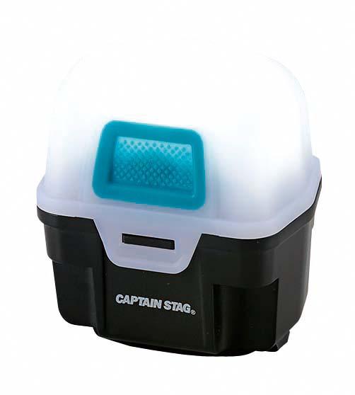 CAPTAIN STAG(キャプテンスタッグ)/ギガフラッシュ LEDヘッドライト<防水ケース付>