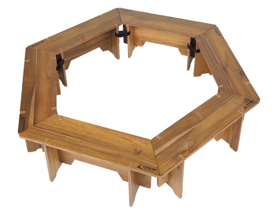 CAPTAIN STAG(キャプテンスタッグ)/CSクラシックス ヘキサグリルテーブルセット<137>