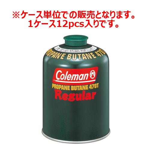 Coleman(コールマン)/純正LPガス燃料470G 1ケース12個入り