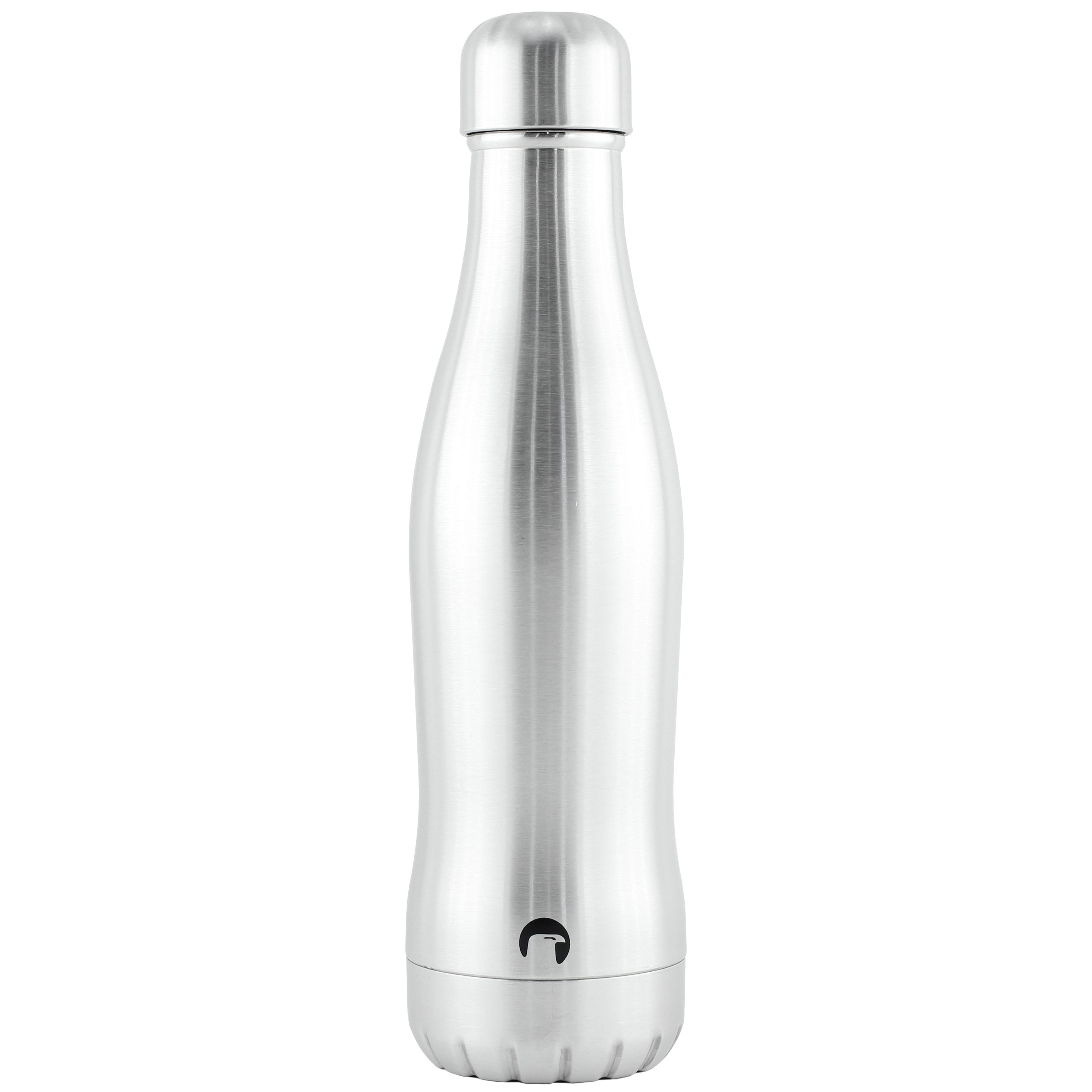 CURVEBOTTLE Termoflaske – Stål / Sølv