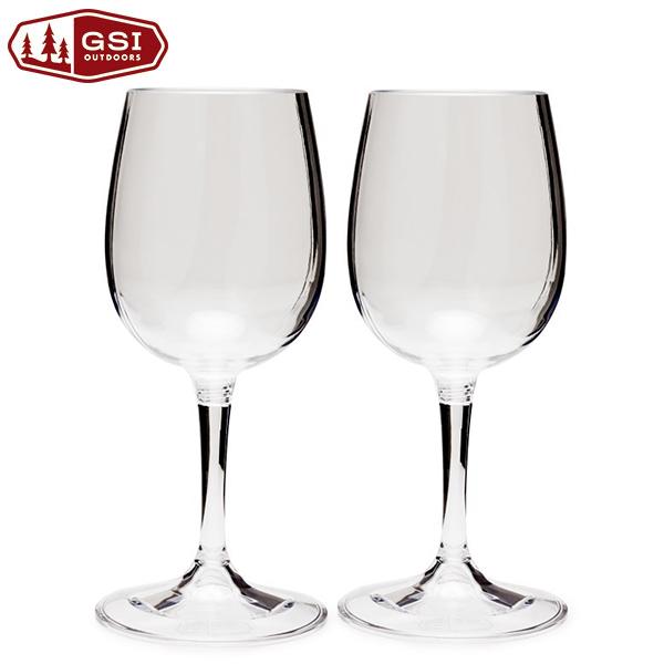 GSI(ジーエスアイ)/ネスティングワイングラス 2個セット