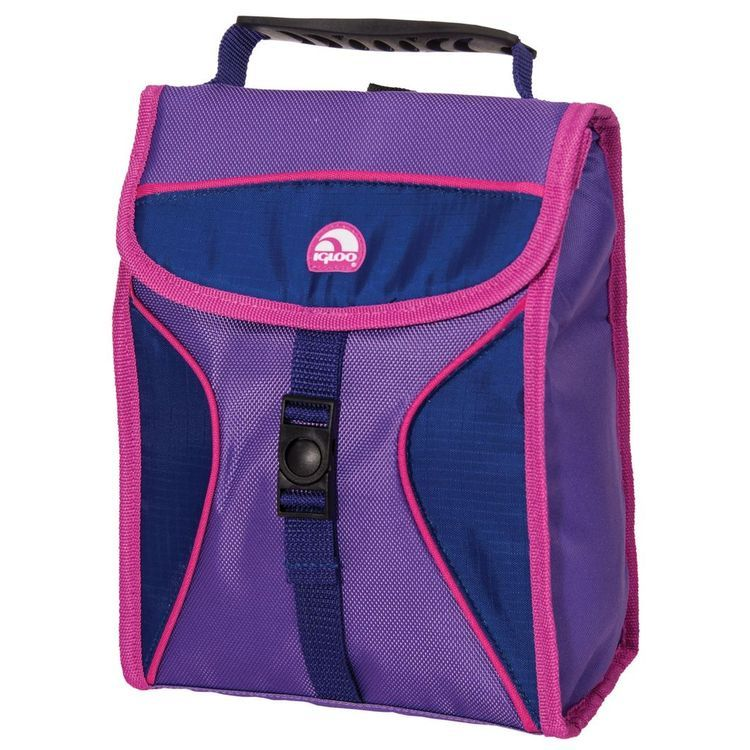 Hot Brights Girls Lunch Bag Purple