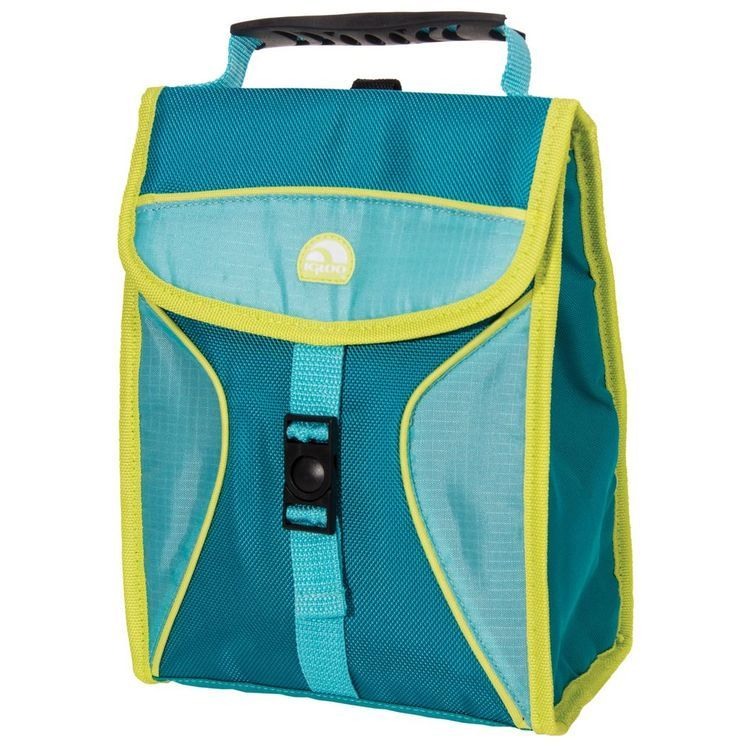 Hot Brights Girls Lunch Bag Teal