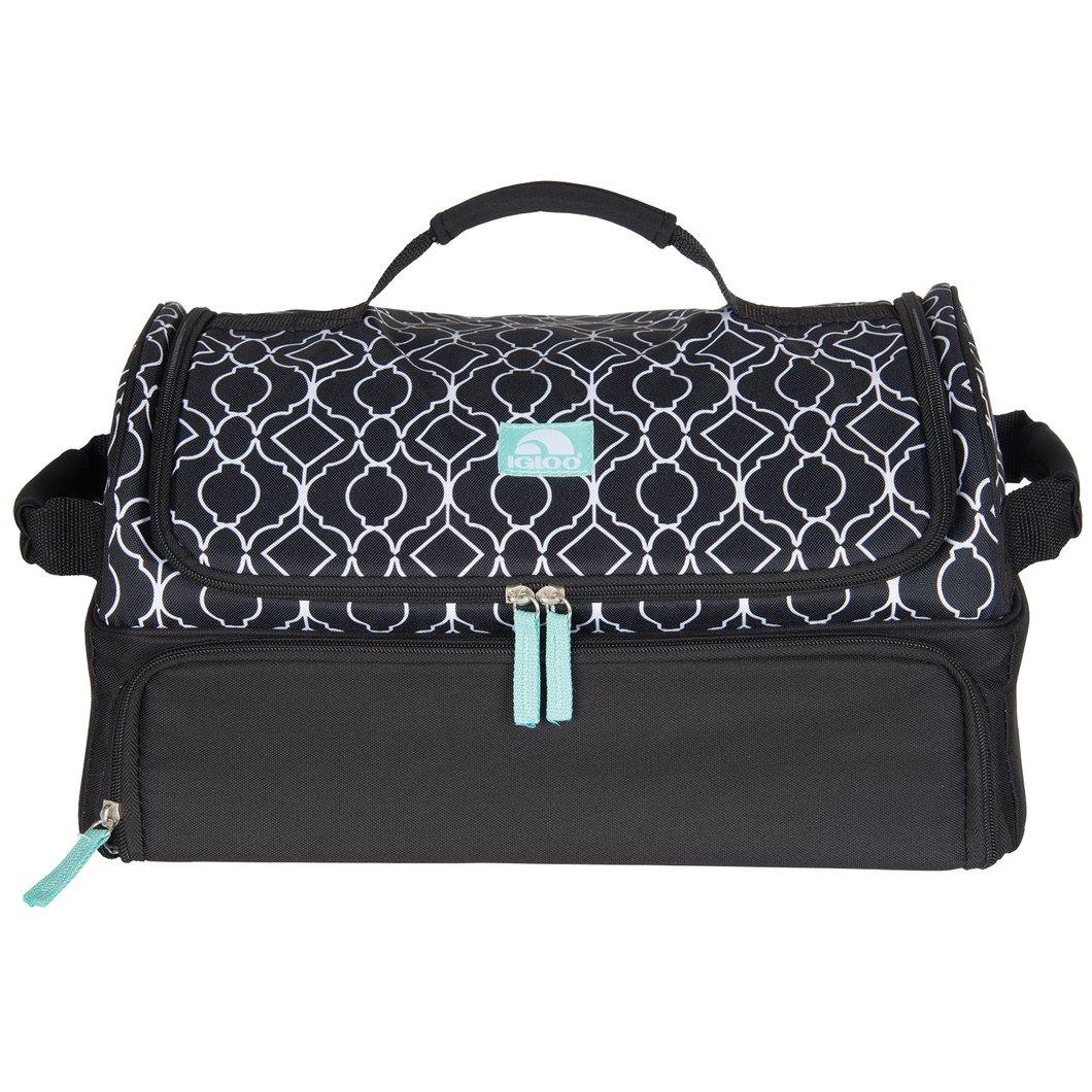 Party Bag Ornate Trellis Black