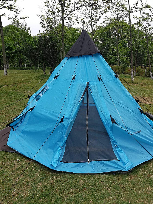ティピーキャンプのテントの防水の大型テントの秘密基地