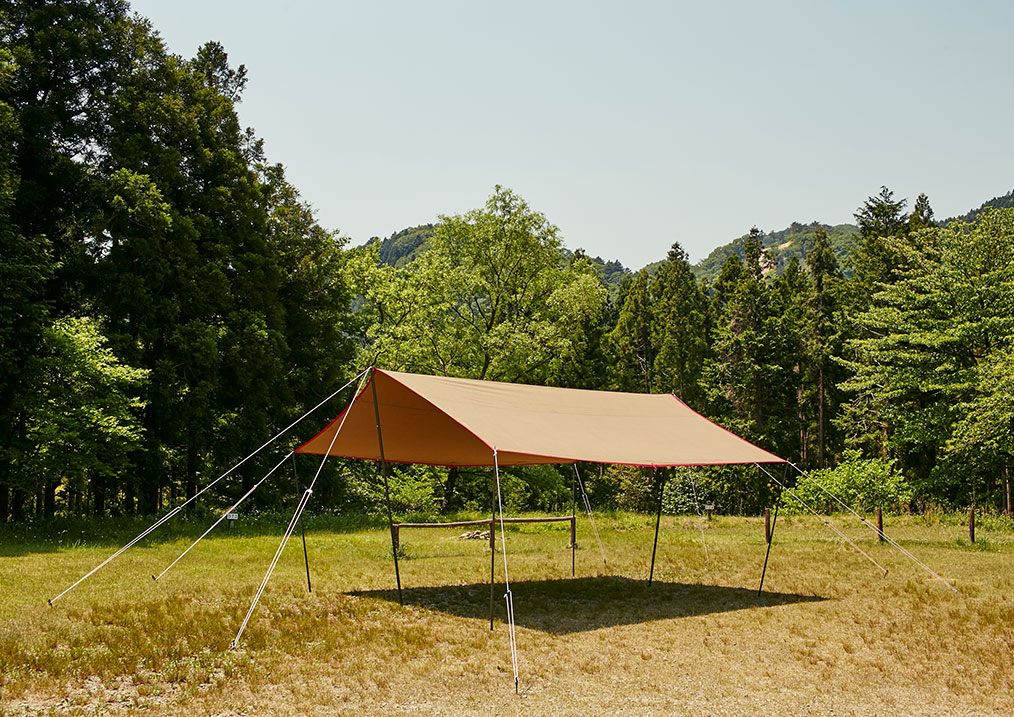 tent-Mark DESIGNS(テンマクデザイン)/Takibi-Tarp Cotton Recta
