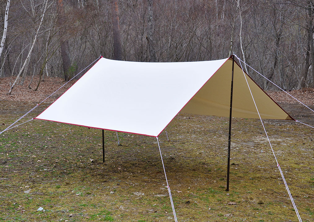 tent-Mark DESIGNS(テンマクデザイン)/Takibi-Tarp Cotton SOLO Recta