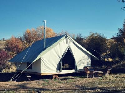 Wall Tent- 12' x 14' - 14.7 oz Duck