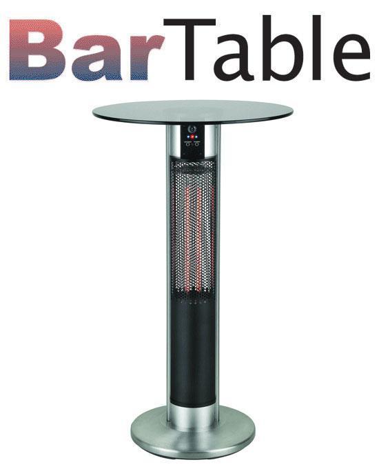 Bar テーブル カーボンヒーター