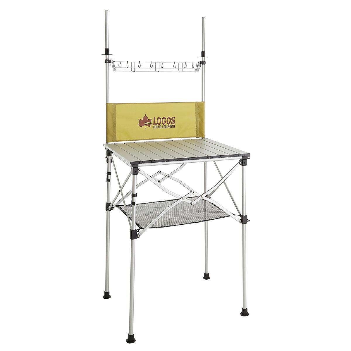 LOGOS(ロゴス)/smart LOGOS kitchen クックテーブル(風防付き)