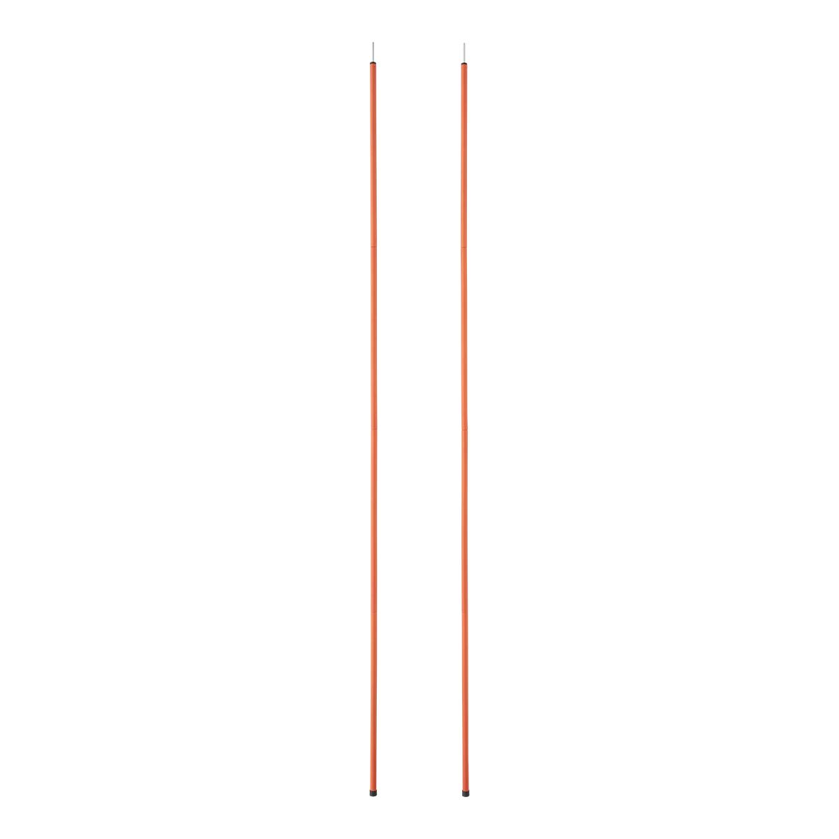LOGOS(ロゴス)/スタンダードキャノピーポール180(2本セット)(オレンジ)